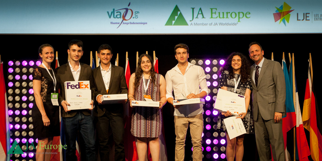 FedEx and JA Europe Recognize Entrepreneurs of Tomorrow with FedEx Access Award