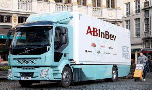 Tweede e-truck deal voor AB InBev in paar dagen tijd