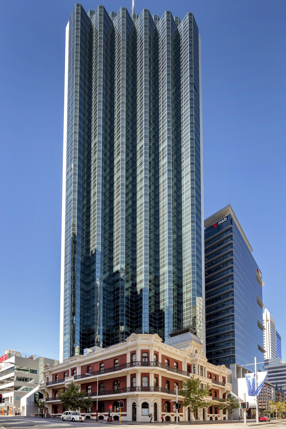GMA Garnet has relocated its main office in Perth to the distinctive 108 St Georges Terrace tower.