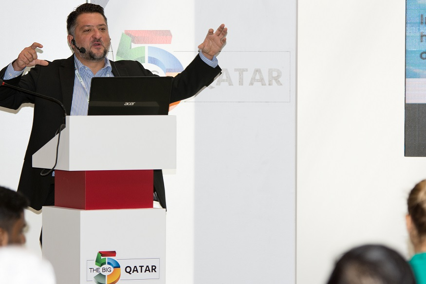 Speaker at The Big 5 Qatar