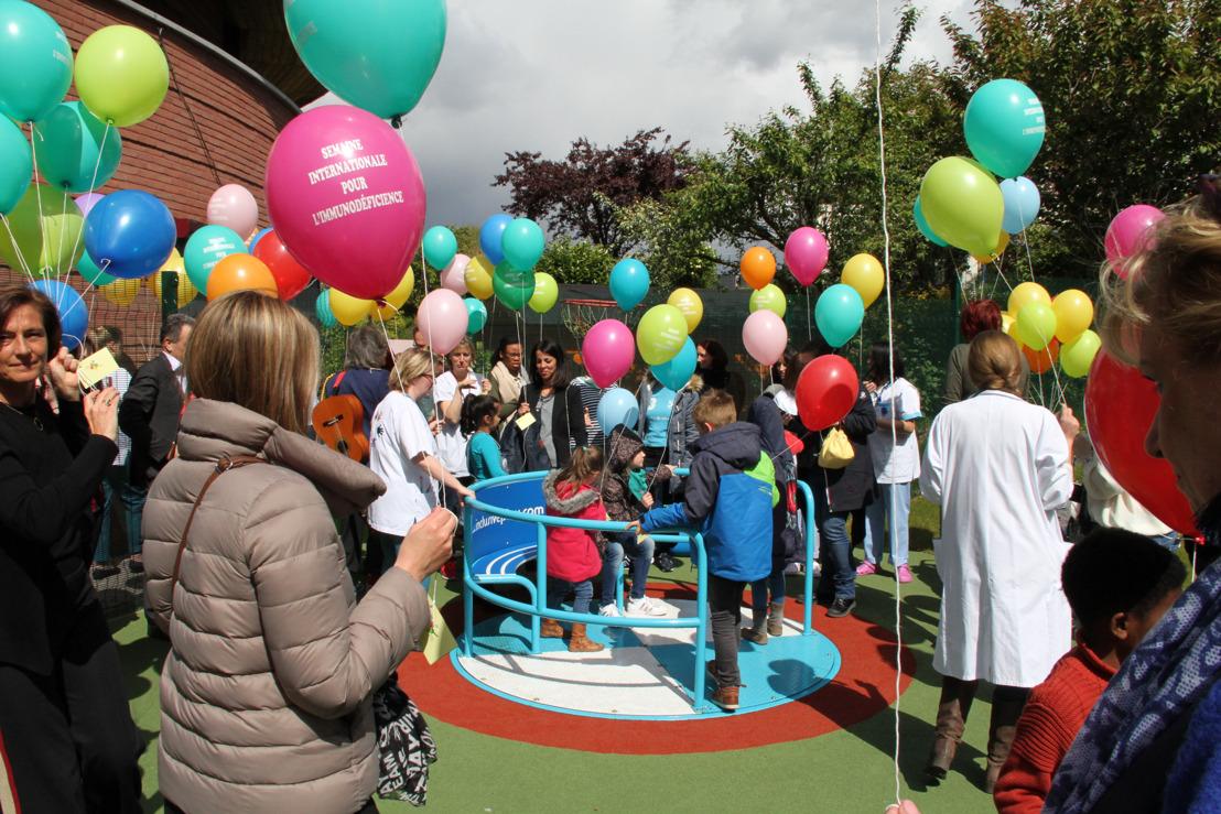 Alerte média : Un lâcher de ballons pour sensibiliser aux Déficits Immunitaires