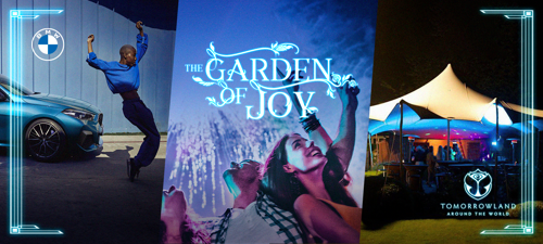 The Garden Of Joy: de magische Tomorrowland thuiservaring van BMW en TBWA