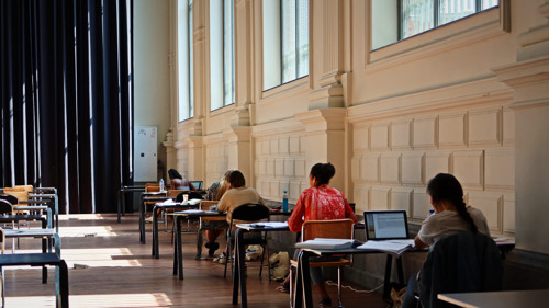 Ook in coronatijden 250 plekken in de Study Spaces, verspreid over Brussel