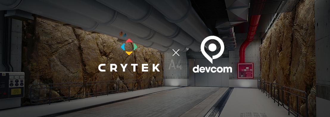 Devcom and Crytek sign year-long strategic partnership