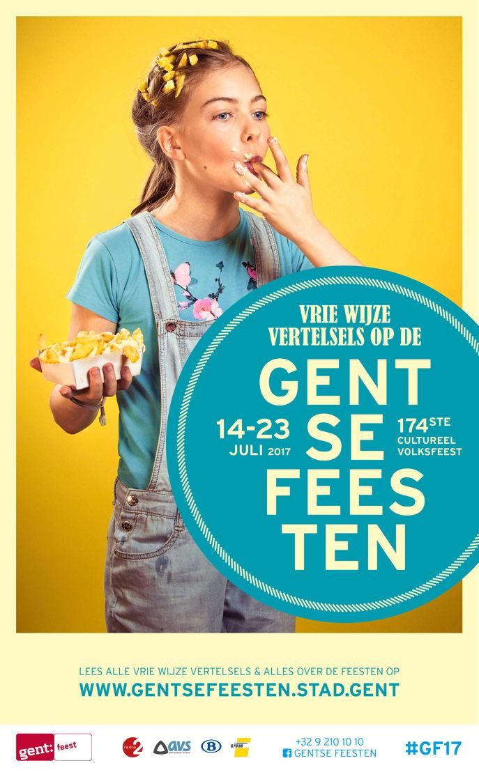 Leonie Waegenaer, joeng dink mee een liefde veur frietjes<br/>&quot;- dat is hier één groot muziekfeest om door te stappen én frietjes te eten&quot;