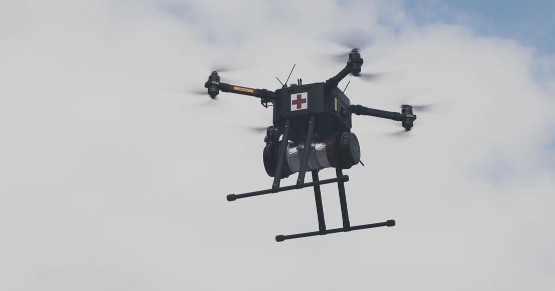Orange Belgium s'associe à Helicus pour optimiser l'utilisation de drones pour l'expédition de fournitures et d'échantillons médicaux