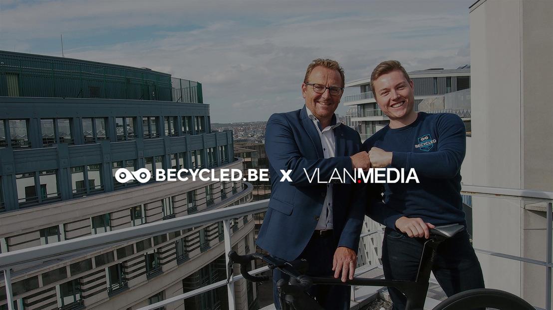Becycled fait la course en tête avec Vlan Media