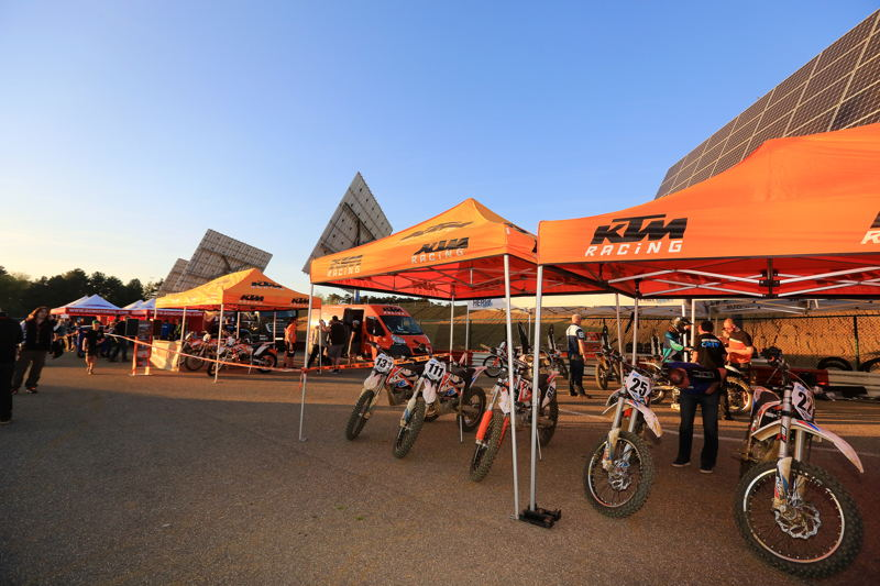 KTM Freeride E paddock, Credit: CDS