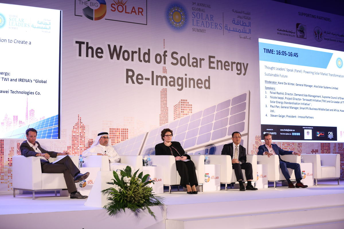 The Global Solar Leaders' Summit 2017