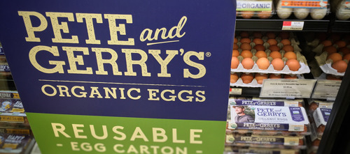 Pete and Gerry's Organic Eggs Teams with Hanover Co-op to Launch Industry's First Reusable Carton
