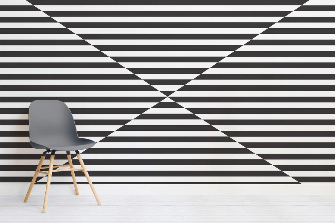 Argus Geometric Triangle Mural - Chair