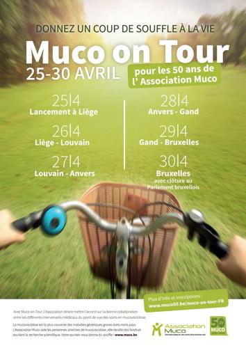Muco on Tour désire souligner l'importance d'une bonne collaboration au niveau des soins en matière de mucoviscidose