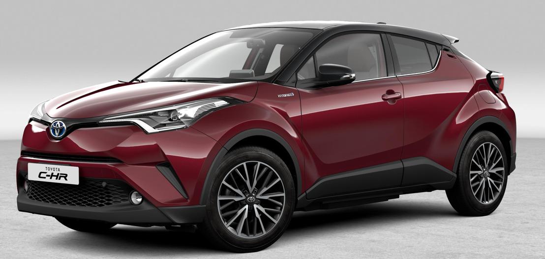 UPDATE: Toyota C-HR beschikbaar in/disponible en C-BUSINESS PLUS 1.2 Turbo 6MT