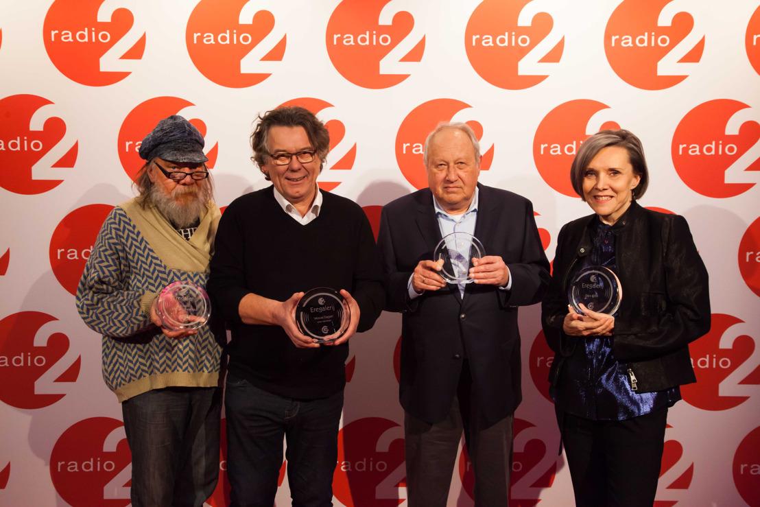 Roland Van Campenhout, Dani Klein en Roland Verlooven opgenomen in De Eregalerij van Radio 2