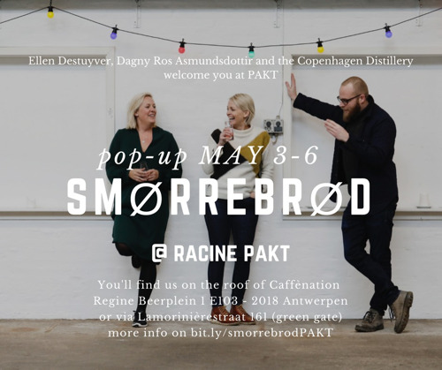Dagny Ros Asmundsdottir & Ellen Destuyver stellen voor : Nieuw pop-up restaurant Smörrebröd: sexy & delicious