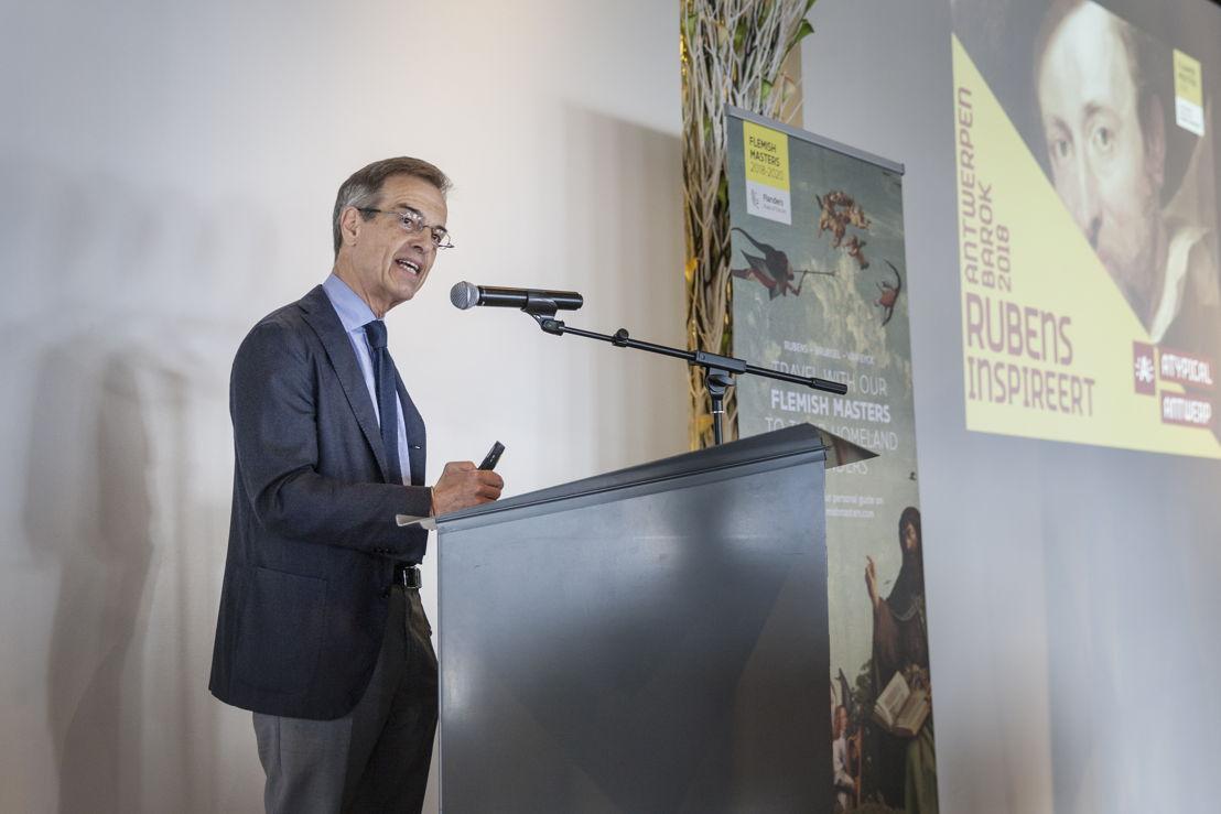 Ben van Beneden, directeur Rubenshuis photo Ans Brys