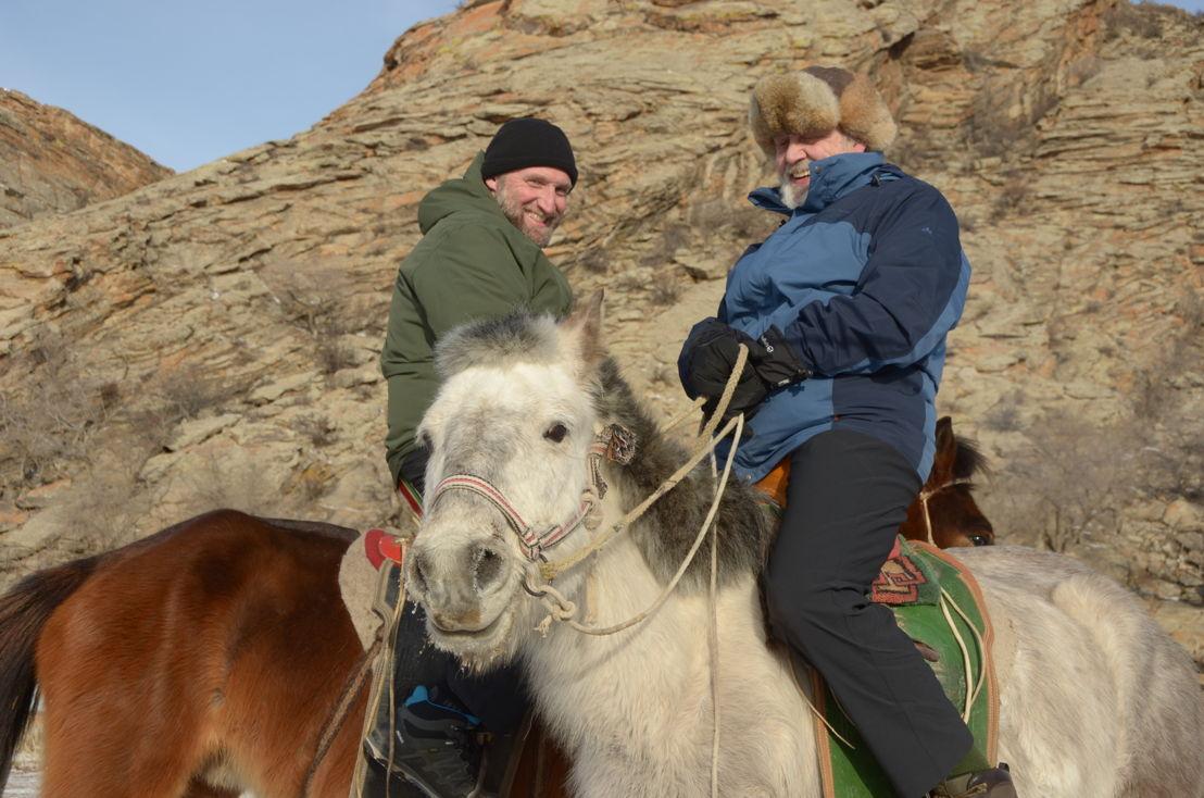 Aflevering 1 (1 mei) - Mongolië met Carry Goossens<br/>(c) VRT