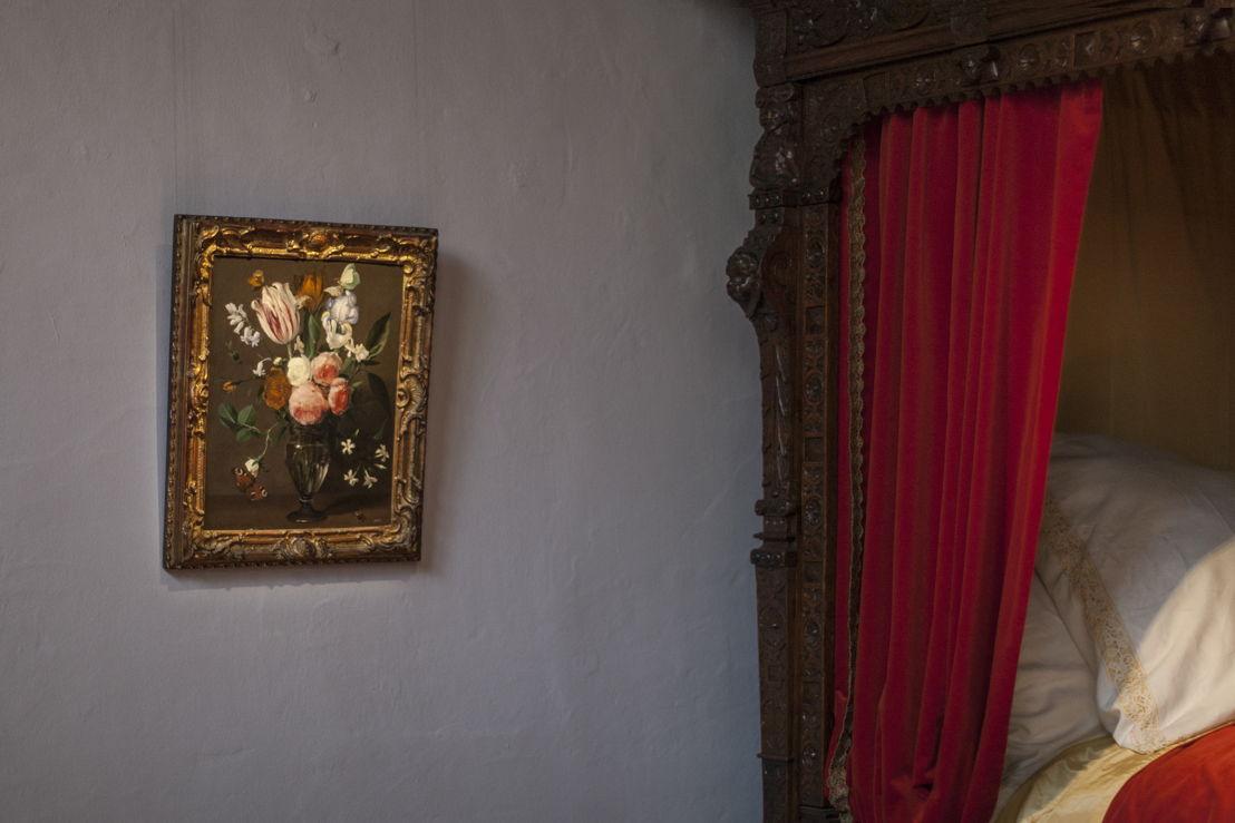 Daniël Seghers, Stilleven met een vaas bloemen, bruikleen, particuliere verzameling, foto Ans Brys