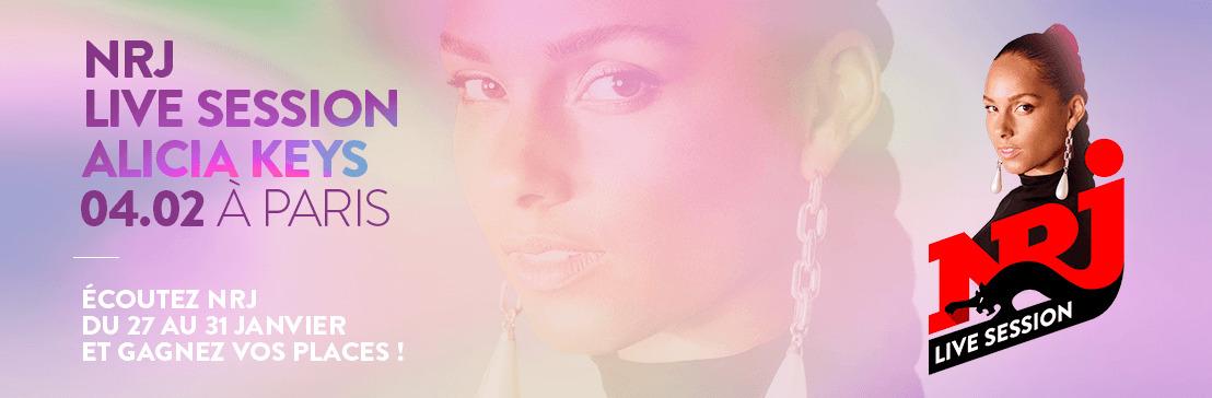 NRJ LIVE SESSION avec Alicia Keys à Paris !