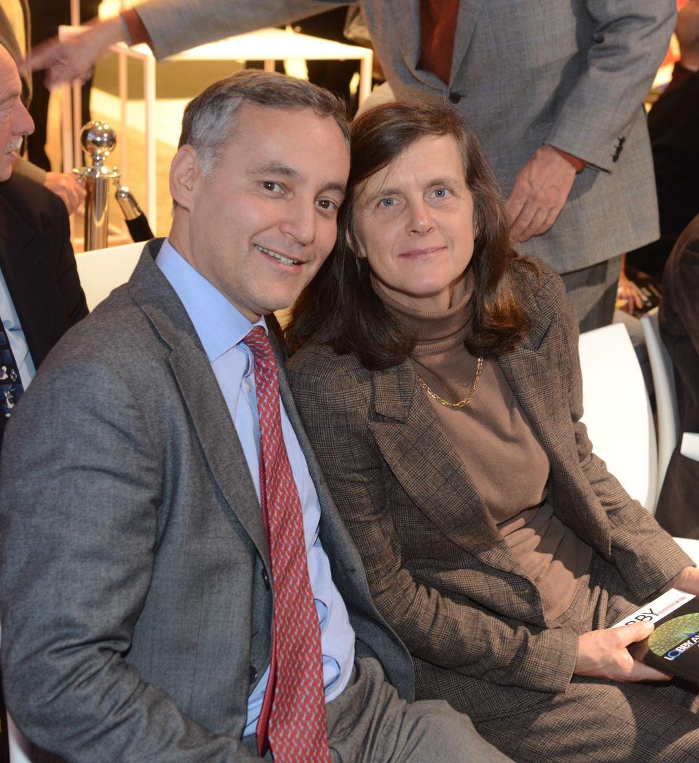 Le comte Fabrice de Boissieu (Admin Délégué de la Banque Transatlantique) et son épouse