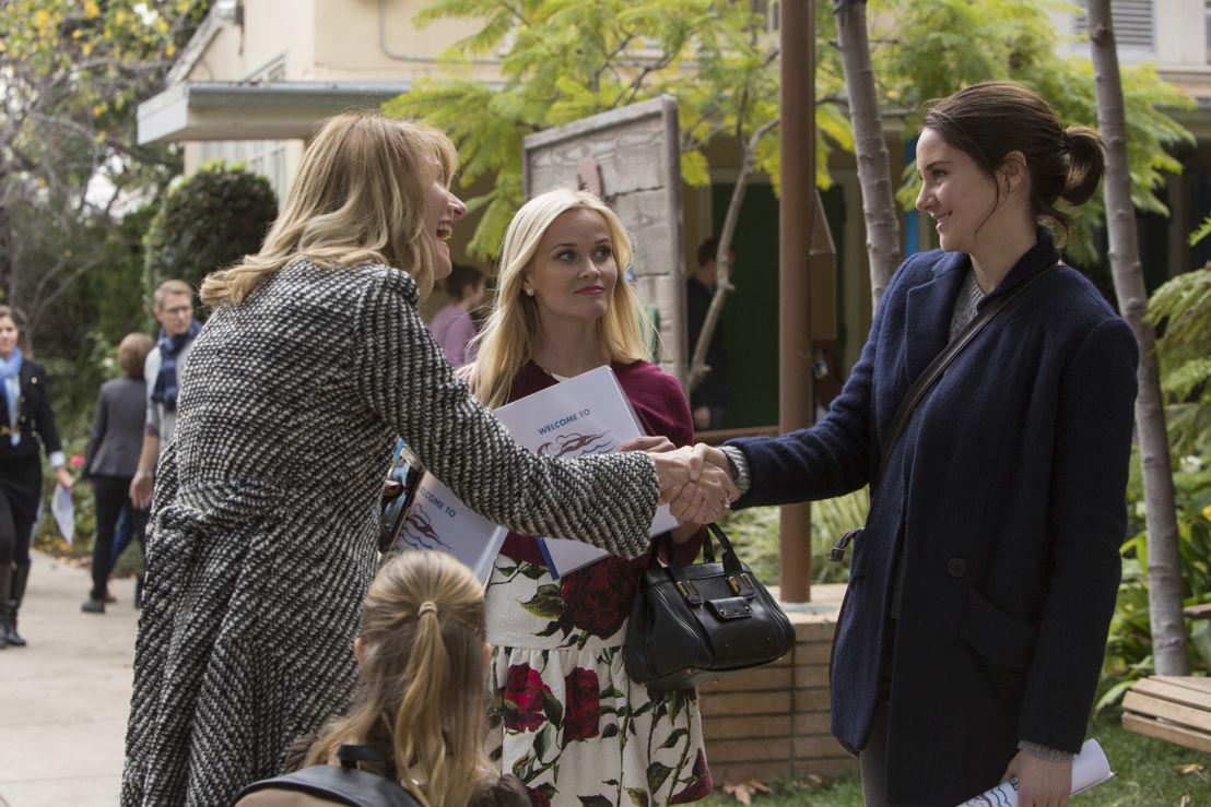 Laura Dern, Reese Witherspoon en Shailene Woodley - (c) HBO