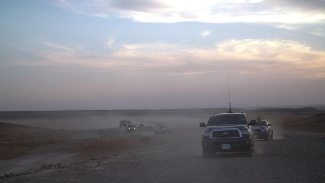 Kleine helden - Irak:  langs de frontlijn - (c) Filip Huygens