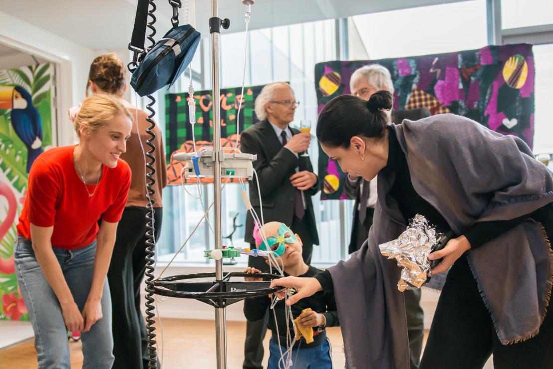 UZ Leuven en M Leuven slaan de handen in elkaar voor project 'Kunst voor het kinderziekenhuis'