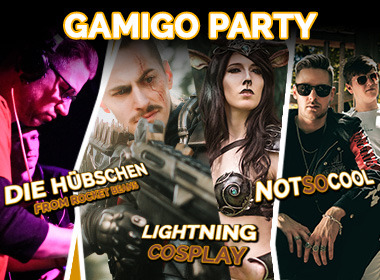gamigo Party: Im August rockt gamigo erneut die gamescom