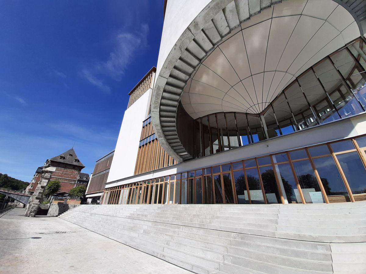 bureau d'architecture Samyn&Partners - Photo prise par Sto
