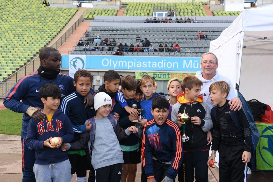 """Die Initiative """"buntkicktgut – interkulturelle straßenfußball-ligen"""" gilt als Pionierprojekt des organisierten Straßenfußballs."""