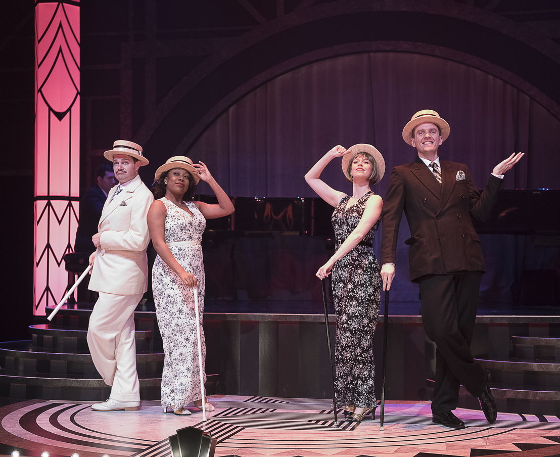 John Ullyatt, Katrina Reynolds, Lauren Bowler, and Andrew MacDonald-Smith in Puttin' on the Ritz - The Music and Lyrics of Irving Berlin (2016) / Photos by Emily Cooper