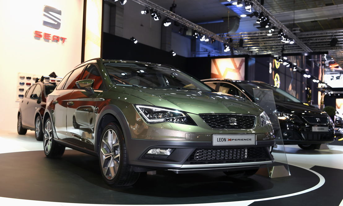SEAT Brussels Motor Show 2015 - Leon X-PERIENCE