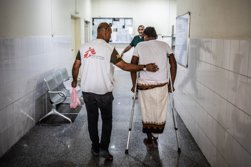 Yemen: MSF admits 51 wounded casualties within a few hours amid chaos in Aden