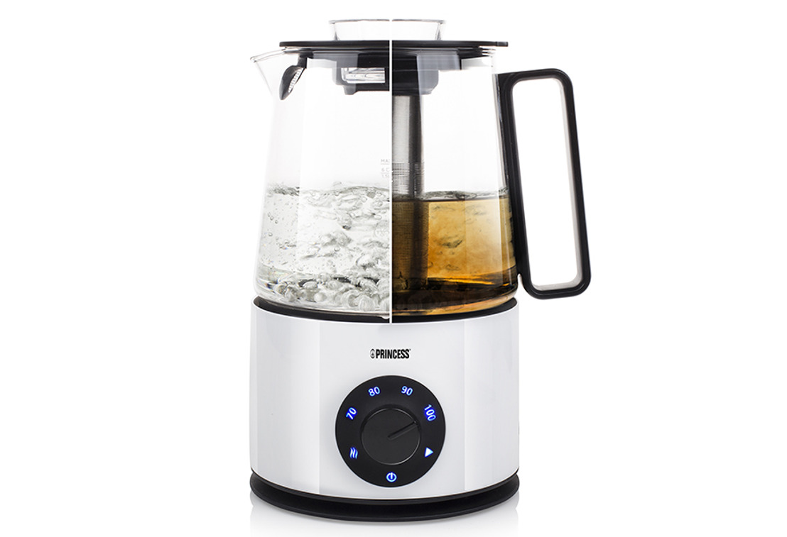 Thee op optimale temperatuur met de Princess Pure Water & Tea Cooker