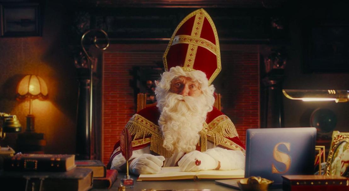 Sinterklaas omzeilt corona met mortierbrigade