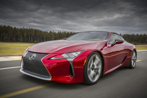 #LCOnTour: LEXUS LC TO MAKE UK DEBUT AT THE GOODWOOD FESTIVAL OF SPEED