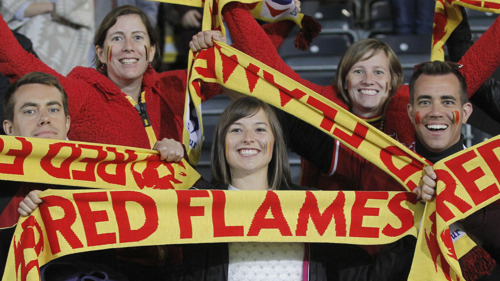 Leuven decor voor 'Road to Euro 2021' Belgian Red Flames en Beloften