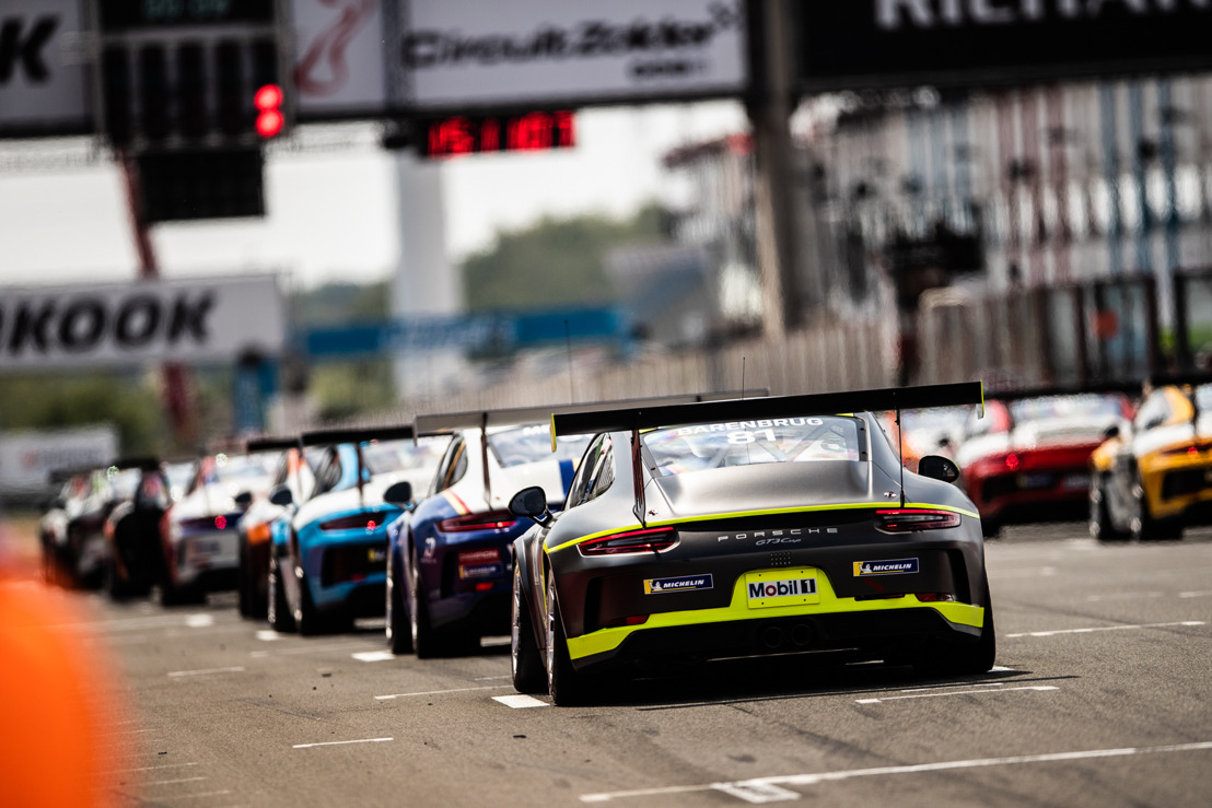 De start lonkt voor de Porsche Carrera Cup Benelux en de Porsche Sprint Challenge Benelux!