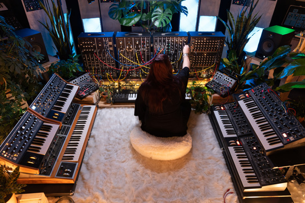 """Preview: New Release from Moog Music: """"Ascension"""" by Lisa Bella Donna"""