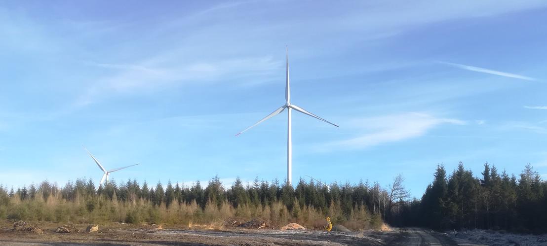 Luminus inaugure son parc éolien de Lierneux avec les riverains à l'occasion de la journée mondiale du vent