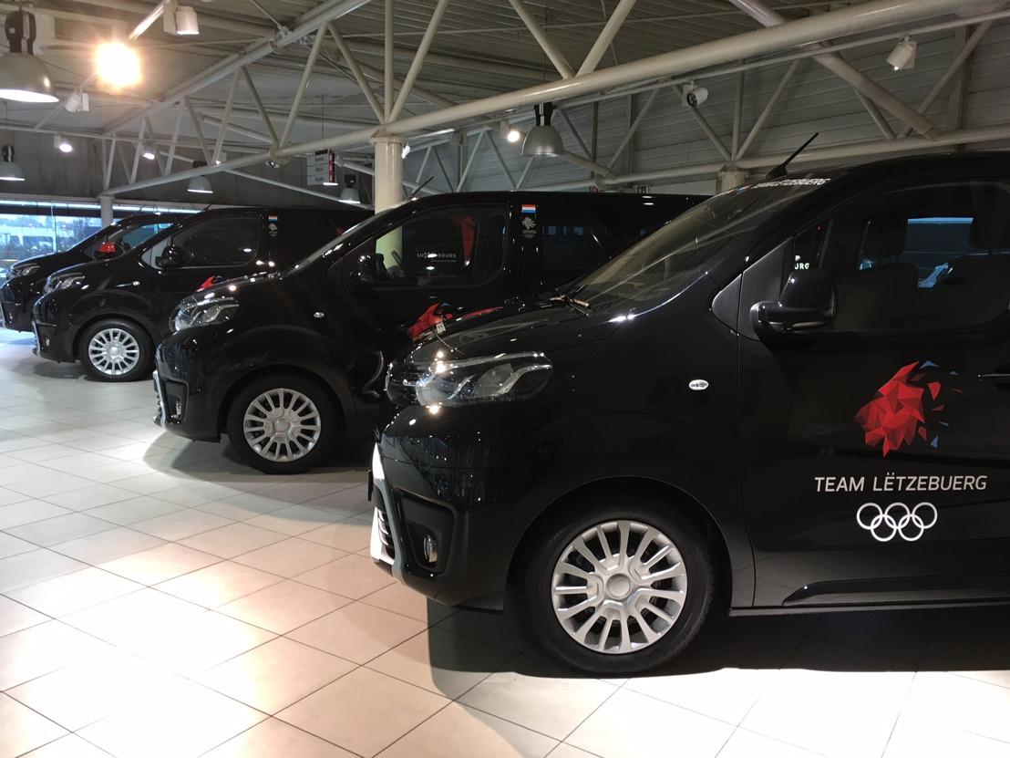 Toyota et le Comité olympique luxembourgeois s'engagent pour décrocher l'or olympique