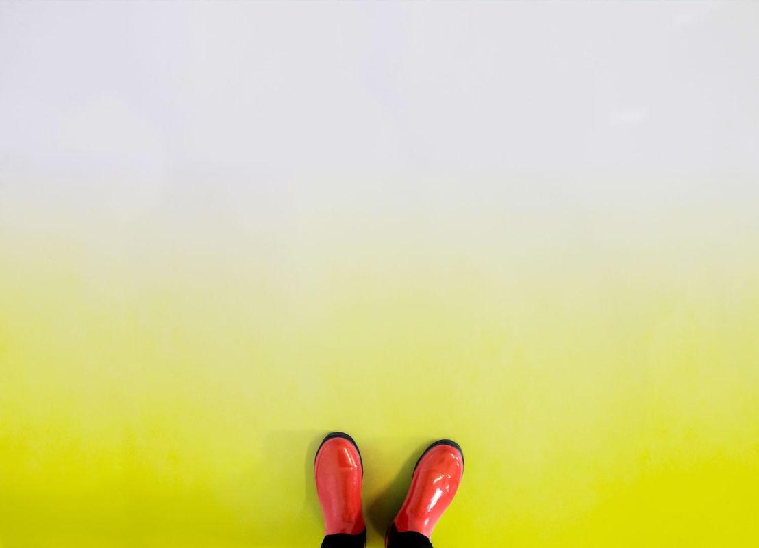 Citron | Yellow Ombre Vinyl Flooring