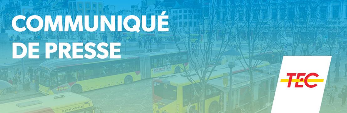 Tout le réseau TEC gratuit les 31 décembre et 1er janvier !