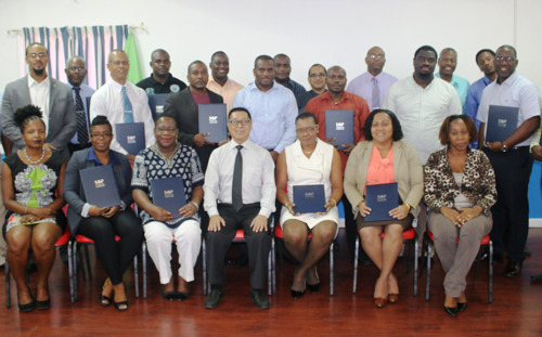 Singapore Cooperation Programme Strengthens OECS Maritime Port Operations