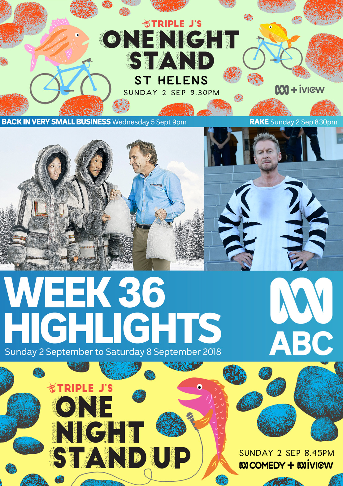 ABC TV Program Highlights - Week 36