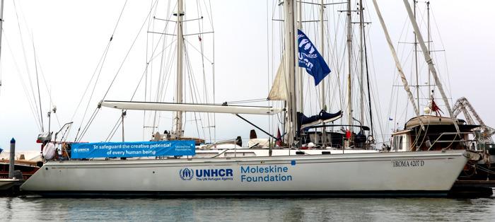 Moleskine Foundation e UNHCR alla Barcolana 2019 per sostenere la cultura del mare e le sue leggi imperative di soccorso e accoglienza
