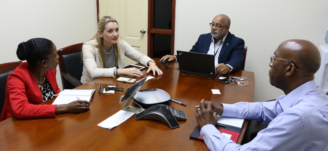 Dutch Regional Envoy for the Caribbean meets with OECS Director General