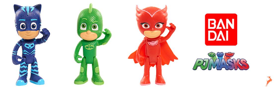 ¡Los nuevos juguetes de PJ Masks: Héroes en pijamas, llegan con más aventuras!