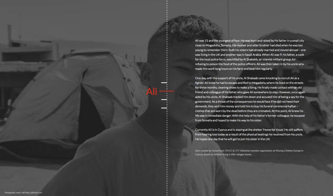 Website / Story Ali