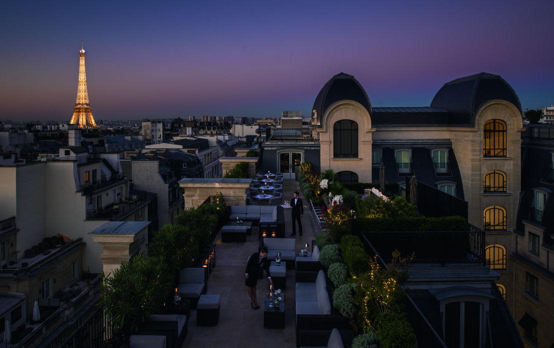The Peninsula Paris, Terrace Night